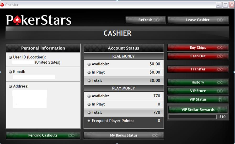 Pokerstars Security