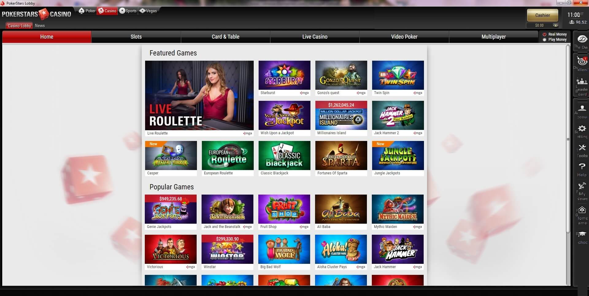 pokerstar casino